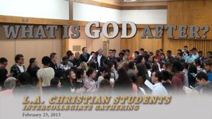 Christian Students Intercollegiate Gathering